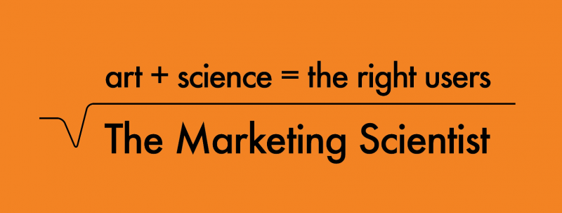 Founded The Marketing Scientist on 27/7